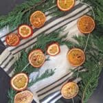 DIY Festive Dried Orange Garland