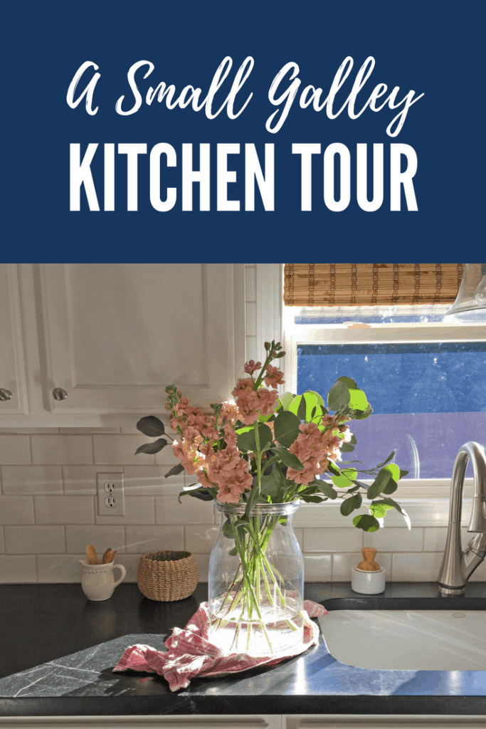 A small galley kitchen tour.
