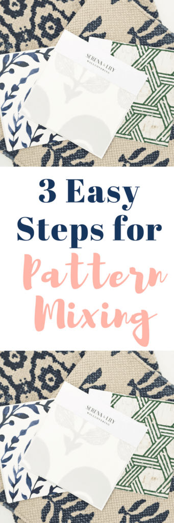 How to mix patterns the easy way! #homedecor #pattern #decorating #turtorial #decoratingtips #decoratingtricks