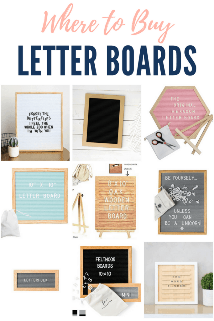 Where to buy letter boards and letter board accessories. #letterboard #quotes # letterboardtips #letterboardtricks #letterboardhacks