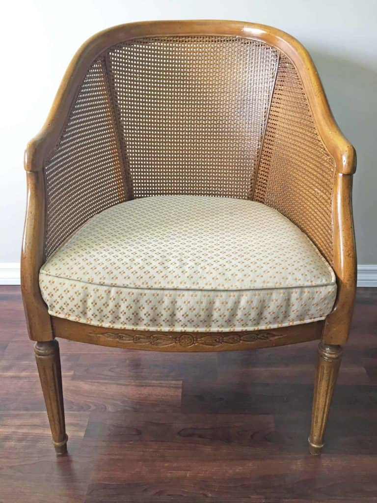 secondhand french chair