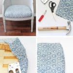 How To Reupholster A Chair Cushion