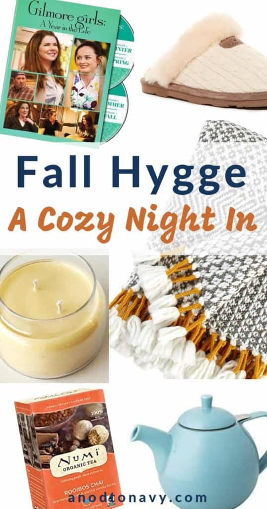 Ideas for how to plan the perfect fall hygge night in!