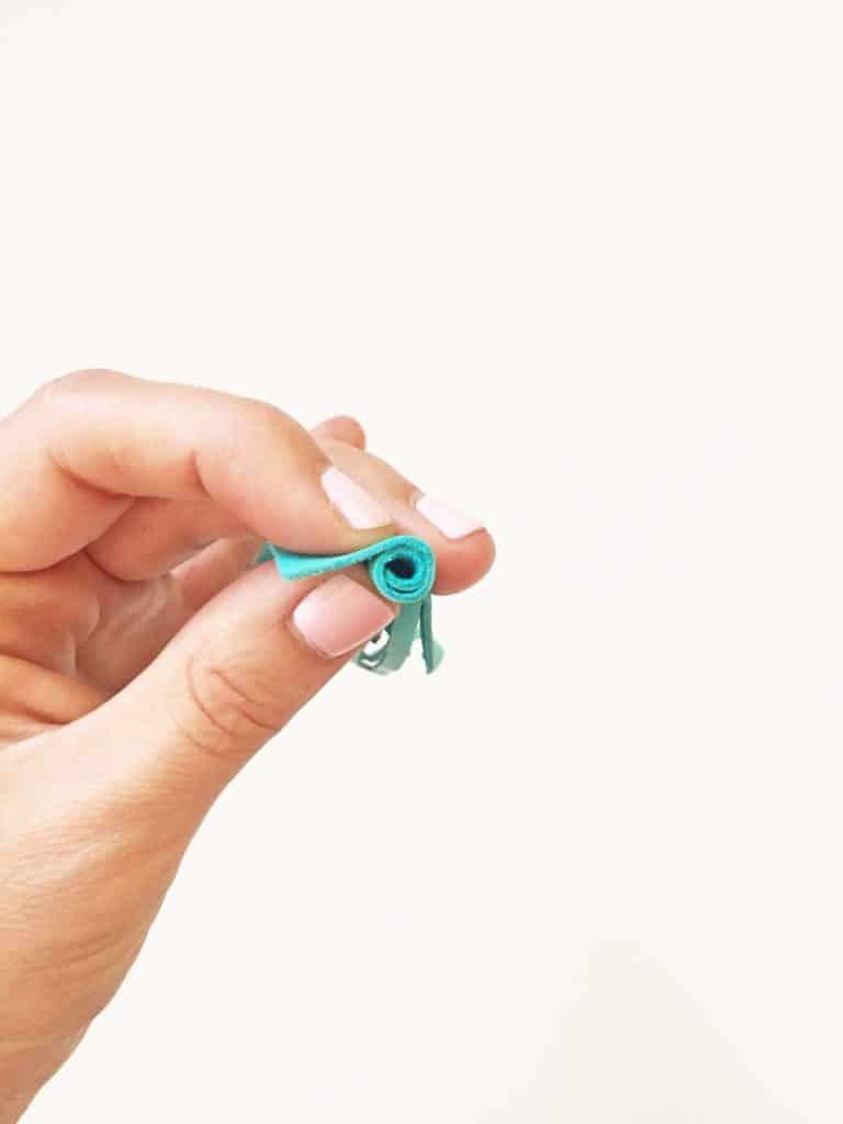 turquoise leader tassel keychain