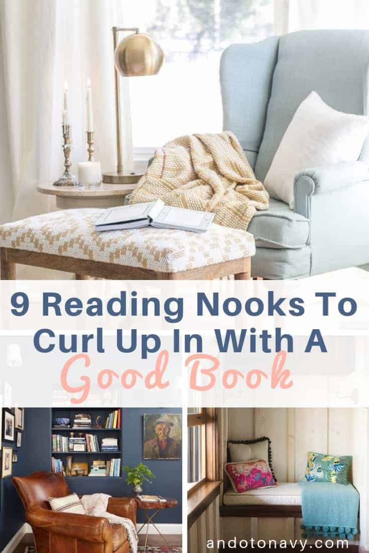 Reading nooks to curl up in with a good book
