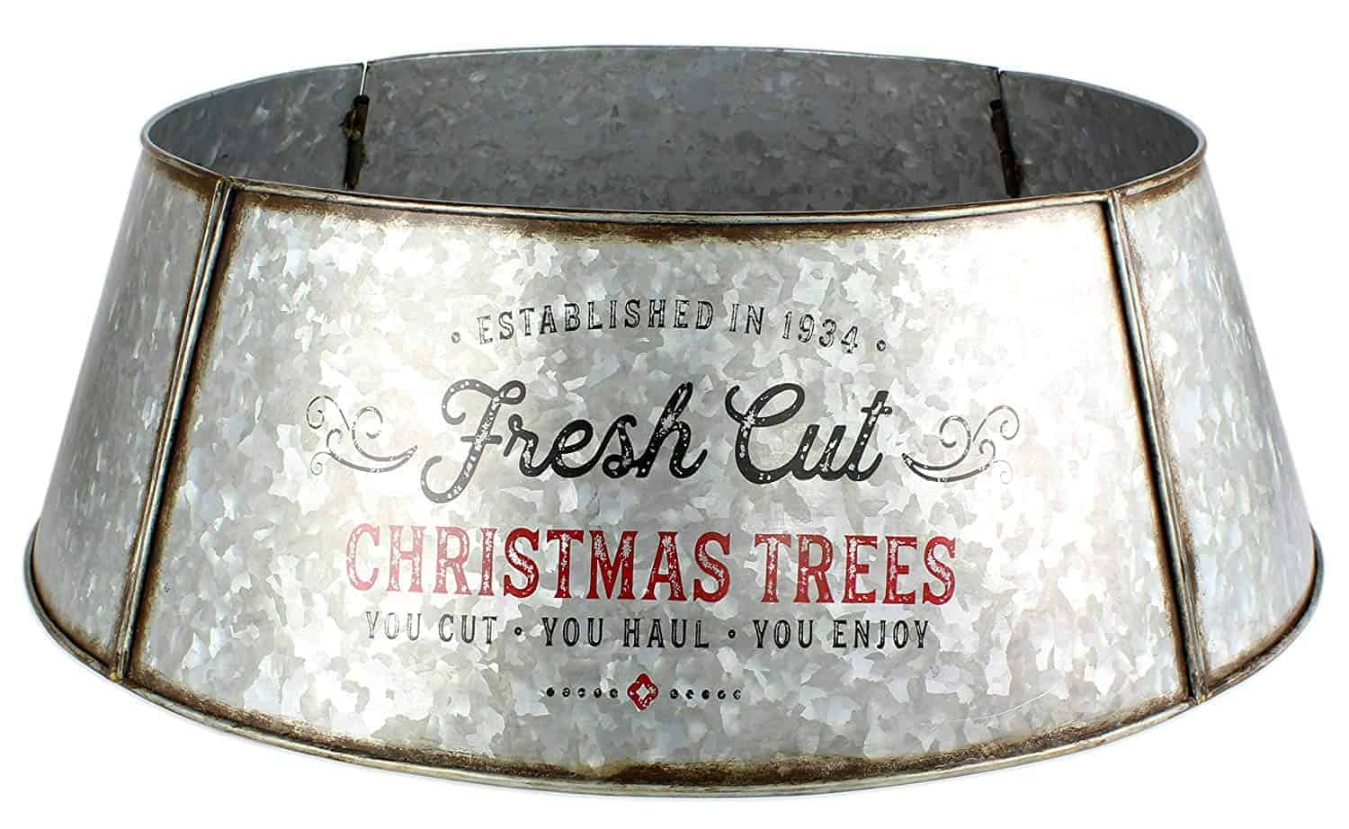 8 Creative Christmas Tree Collars To Spruce Up Your Tree A Nod To Navy