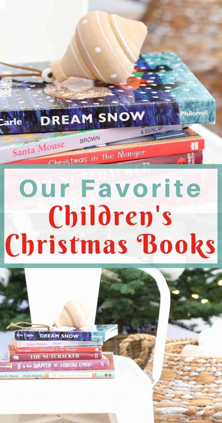children's christmas books with ornament