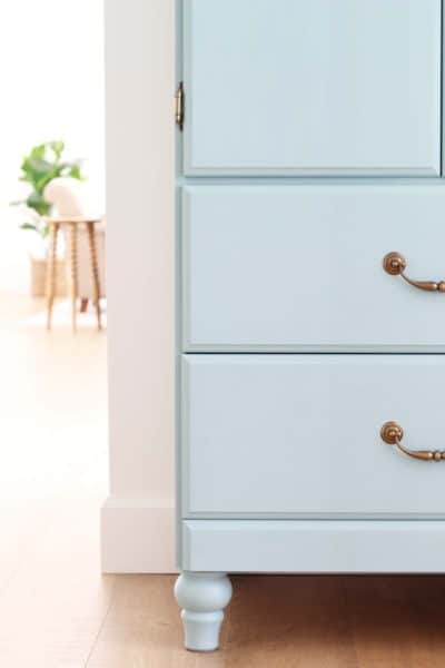 Make A Vintage Armoire Out Of A Thrifted Cabinet
