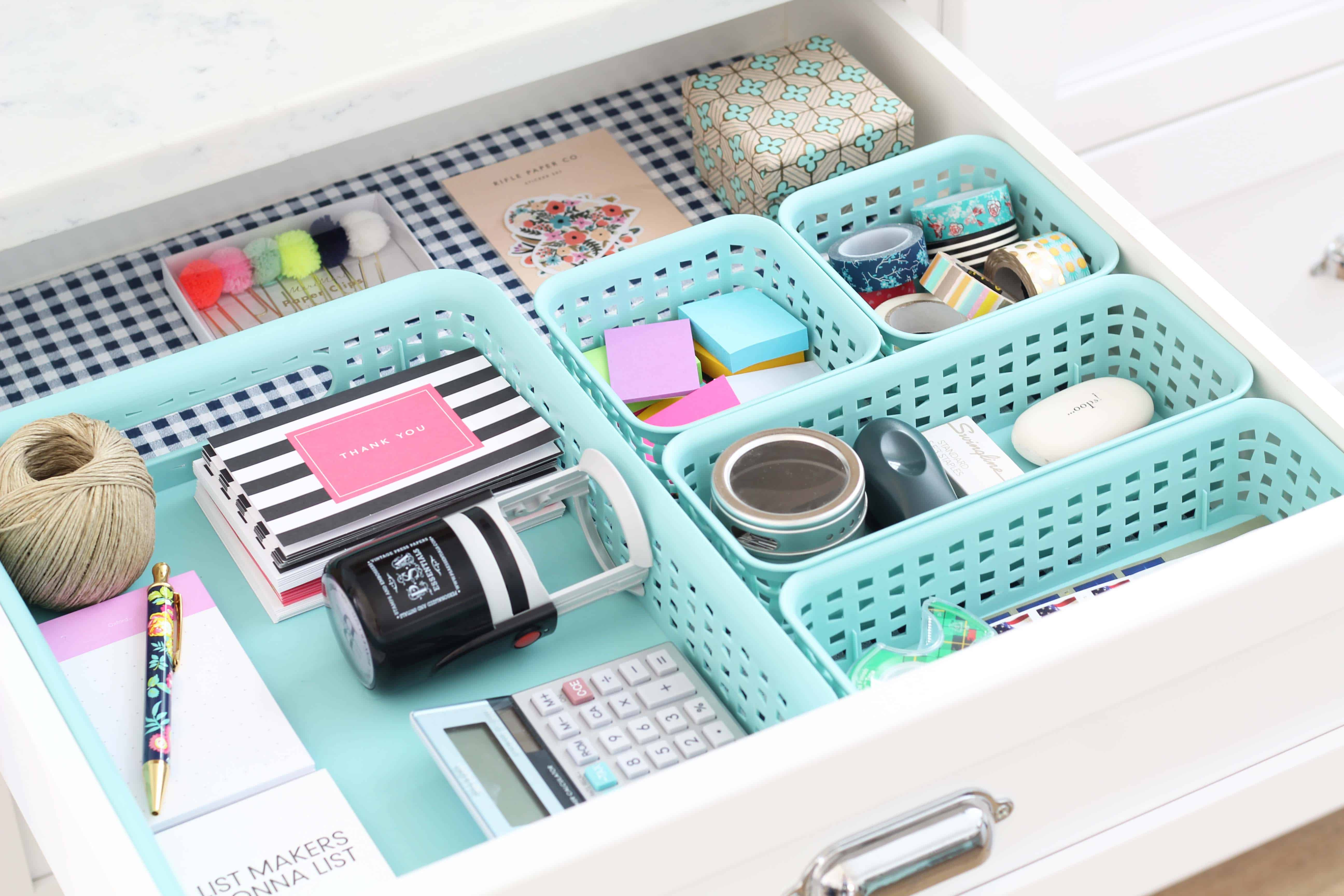 Inspiration For A Perfectly Organized Junk Drawer  A Nod to Navy