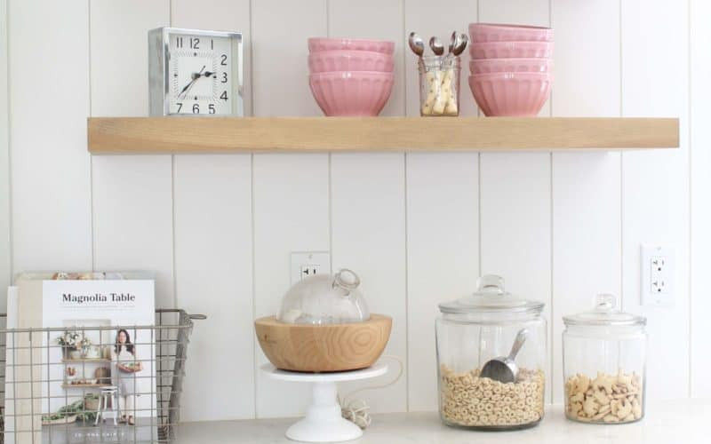 Open Kitchen Shelving: Yay or Nay?