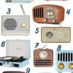 Cute Vintage Bluetooth Speakers For Under $50