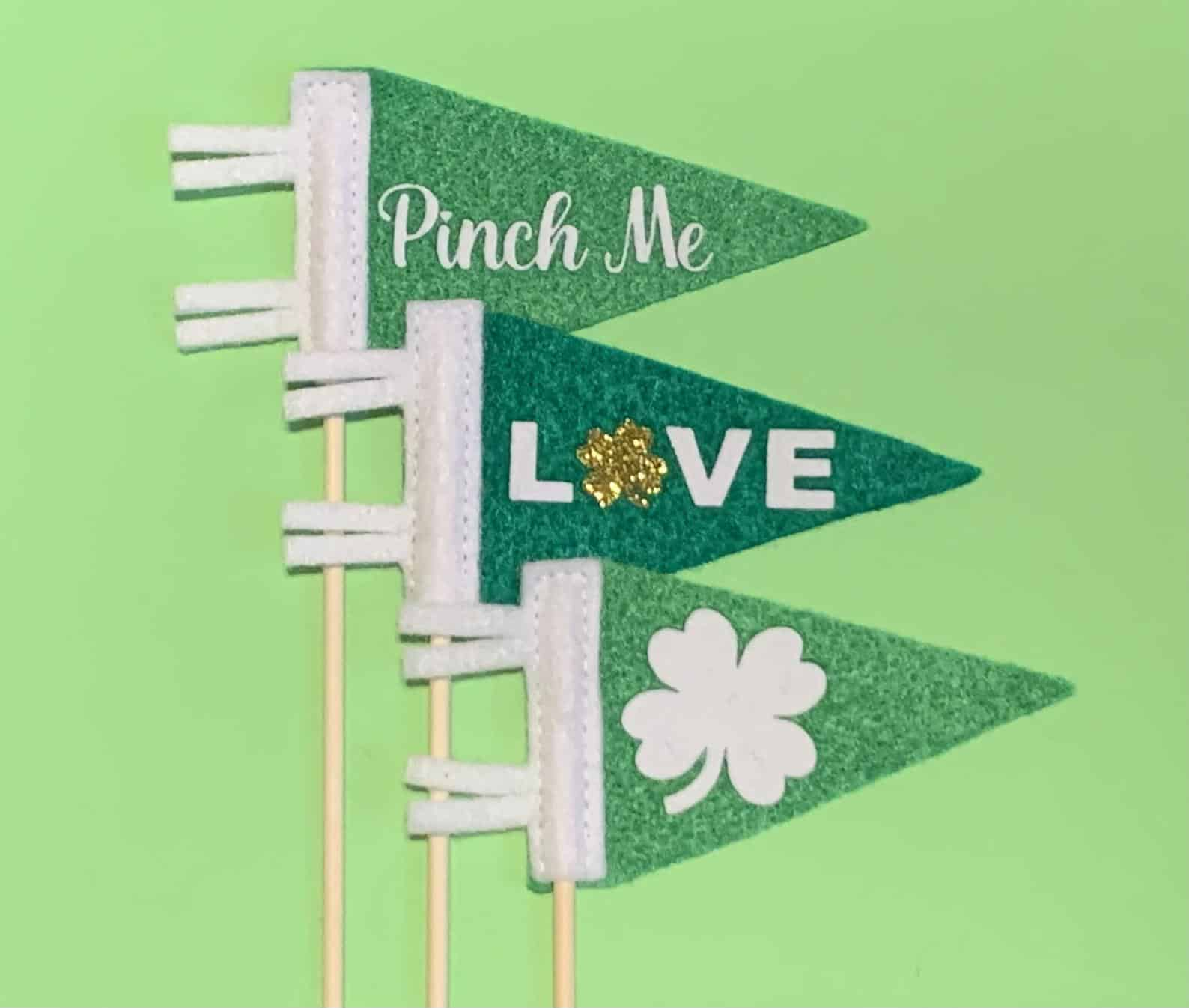 irish pennant's for st. Patrick's day