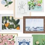 Fresh & Pretty Artwork For Your Home